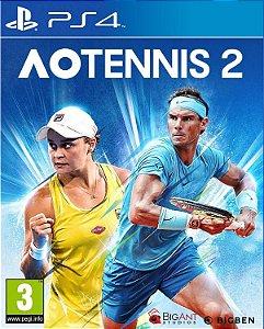 AO TENNIS 2 PS4 PSN MÍDIA DIGITAL