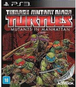 Teenage Mutant Ninja Turtle Tartarugas ninja ps3 midia digital