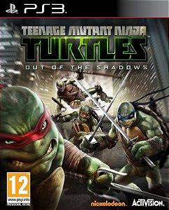 Teenage Mutant Ninja Turtle out of the Shadows PS3 midia digital