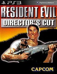 Resident evil directors cut PS3 Psone classic Midia digital