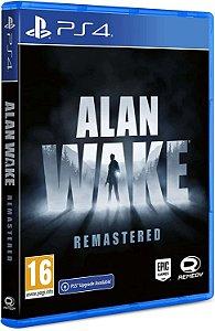 Alan Wake Remastered PS4 - PSN Mídia Digital