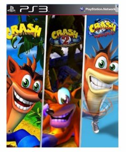 Crash trilogia ps3 psn midia digital