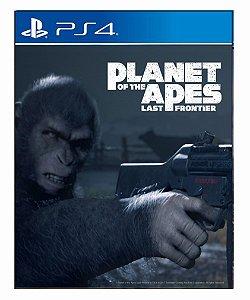 Planeta dos macacos: A ultima fronteira ps4 psn midia digital
