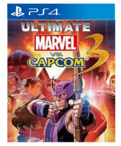 Ultimate marvel vs capcom ps4 psn midia digital
