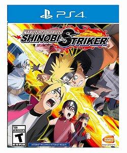 Naruto to Boruto Shinobi Striker - Ps4 Psn Mídia Digital