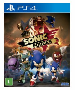 Sonic forces Digital Bonus standard edition ps4 psn midia digital