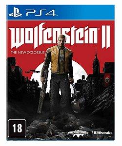 Wolfenstein 2 The New Colossus - Ps4 Psn Mídia Digital