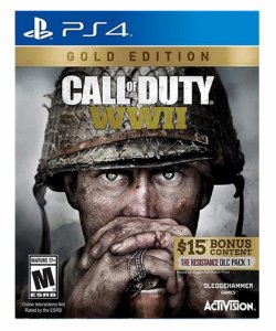 Call of duty world war 2- Gold Edition Ps4 psn midia digital