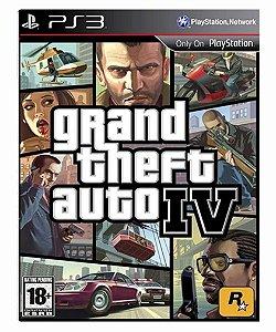 Grand Theft Auto IV Gta 4 - Ps3 Psn Mídia Digital