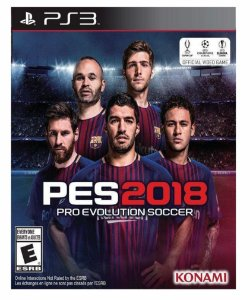 Pes 2018 ps3  pes 18 psn midia digital