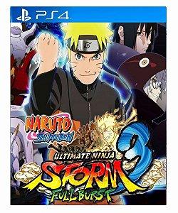Naruto Shipuden: Ultimate Ninja STORM 3 Full Burst psn ps4 midia digital