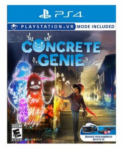 Concrete genie ps4 psn midia digital