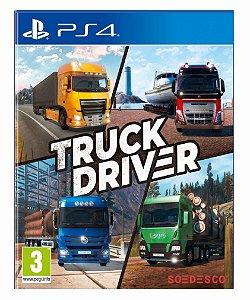 Truck Driver ps4 psn midia digital