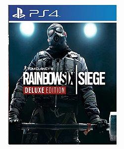 Tom Clancys Rainbow Six Siege Deluxe Edition - Ps4 Psn Mídia Digital