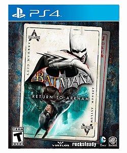 Batman: return to arkham ps4 psn midia digital
