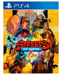 Streets Of Rage 4 -ps4 midia digital