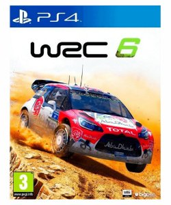 WRC 6 -Ps4 psn midia digital