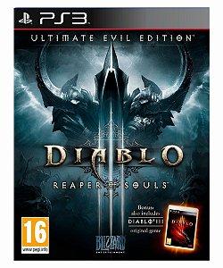 Diablo III: Reaper of Souls - Ultimate Evil Edition Ps3 Mídia Digital