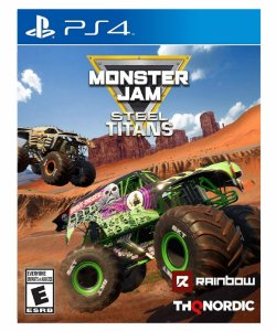 Monster Jam Steel Titans-ps4 psn midia digital