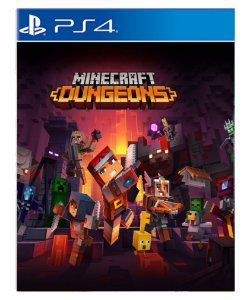 Minecraft Dungeons-PS4 PSN midia digital