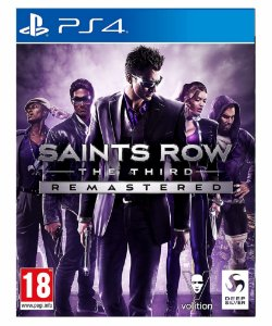 Saints Row the third Remastered-PS4 Mídia digital