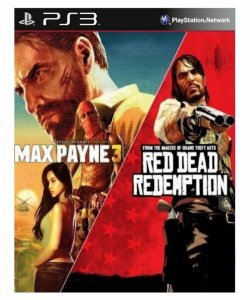 Pacote Max Payne Complete Edition 3 and Red Dead- ps3 psn midia digital