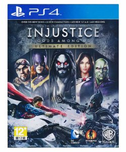 Injustice Gods Among Us-ps4 midia digital