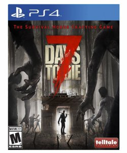 7 Days to die-PS4 PSN MIDIA DIGITAL