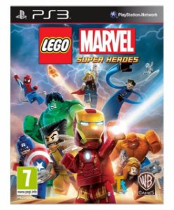Lego Marvel Super Heroes-ps3 psn mídia digital