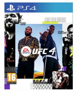 UFC 4 Standard Edition- ps4 mídia digital
