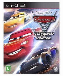 Carros 3: Correndo para vencer- Ps3 PSN Mídia Digital
