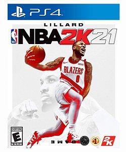 NBA 2K21 - Ps4 Psn Mídia Digital