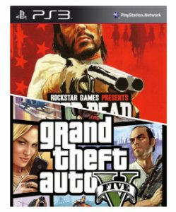 Combo Red Dead Redemption + Gta 5 Ps3 Mídia Digital