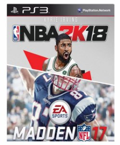 Combo Nba 2k18 +Madden NFL 17 Ps3 Mídia Digital