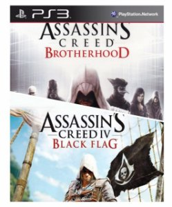 Combo Assassins Creed Brotherhood + assassins creed 4 black flag Ps3 Mídia Digital