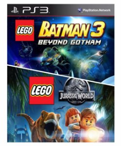 Combo Lego Batman 3 + Lego Jurassic World Ps3 Mídia Digital