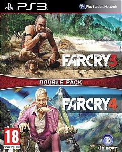 Combo Far cry 3 + Far Cry 4 Double pack Ps3 Mídia Digital