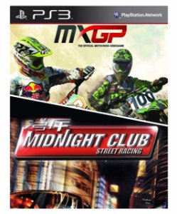 Combo MXGP  Motocross + Midnight club (ps2 classics) Ps3 Mídia Digital