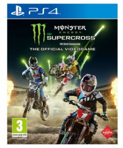 Monster Energy Supercross The Official Videogame Ps4 Psn Mídia Digital