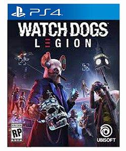 Watch Dogs: Legion  Ps4 Psn Mídia Digital Pré Venda