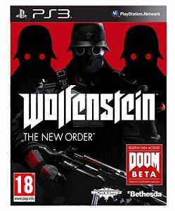 Wolfenstein The New Order ps3 psn midia digital