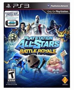 PlayStation All-Stars Battle Royale ps3 psn midia digital