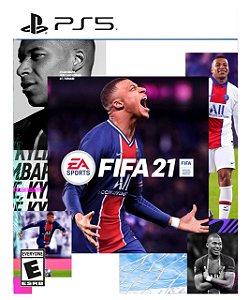 FIFA 21 PORTUGUES BR  PS5 PSN Mídia Digital