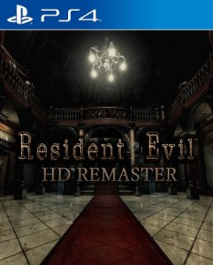 Resident evil HD remaster ps4 e ps5 midia digital