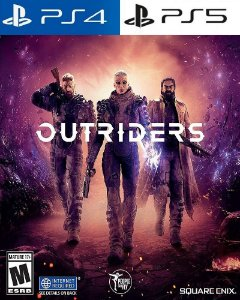 Outriders PS4 e ps5 midia digital