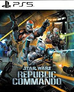 Star wars Republic Commando ps5 e ps4 midia digital