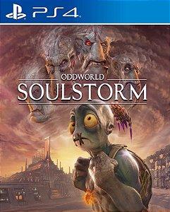 Oddworld Soulstorm PS4 e PS5 midia digital