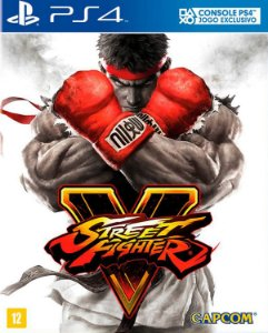 Street fighter V ps4 e ps5 midia digital
