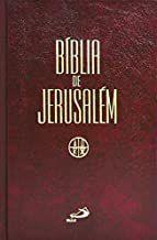 Bíblia de Jerusalém - Média Encadernada Capa Dura
