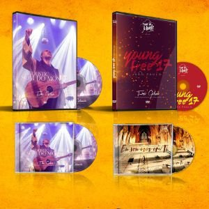 Combo CD Eu Vou Crer em Ti + CD Acoustic Som do Monte + DVD Acoustic Som do Monte + DVD Young Free